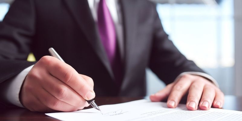 Investment security paperwork