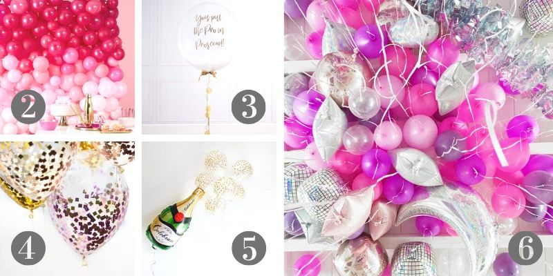 decorate for new year with balloons