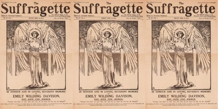 Emily Davison The Suffragette Angel